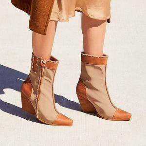 NEW Jeffrey Campbell Deconstructed Western Boot 5